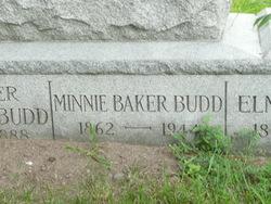 Minnie P. <i>Baker</i> Budd
