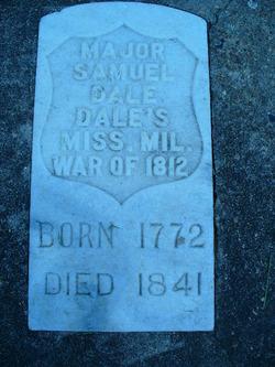 Maj Samuel Dale