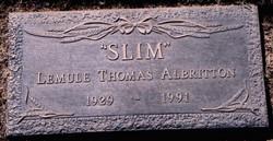Lemuel Thomas Slim Albritton