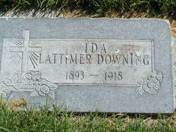 Ida Fay <i>Lattimer</i> Downing