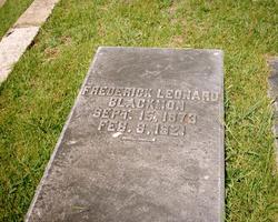 Frederick Leonard Fred Blackmon