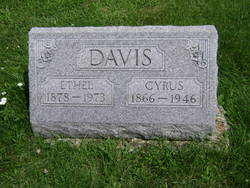 Ethel Laura <i>Cashman</i> Davis