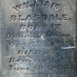 William Blasdale