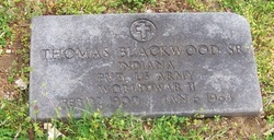 Pvt Thomas James Blackwood, Sr