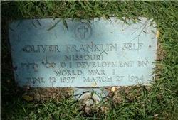 Oliver Franklin Self