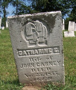 Catharine Elizabeth <i>Rutledge</i> Carney