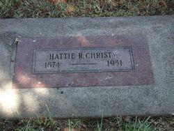 Hattie Rose <i>Reed</i> Christy