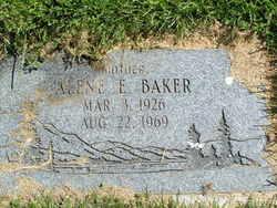 Alene E <i>Dick</i> Baker