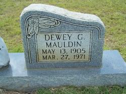 Dewy G Mauldin