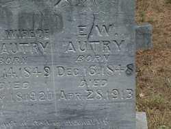 Elijah William Autry