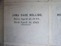 Anna Dade Bolling