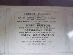 Mary Burton Bolling