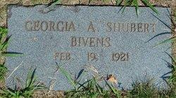 Georgia A. <i>Shubert</i> Bivens