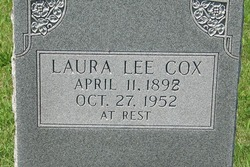 Laura Callie <i>Lee</i> Cox
