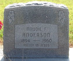 Maudie F. Anderson