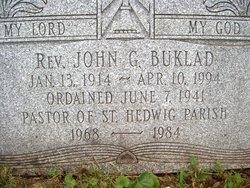 Rev John Buklad