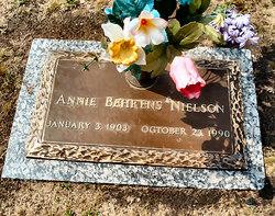 Anna ( Annie ) Dorothea <i>Behrens</i> Nielson