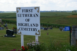 First Lutheran Church of Highland Cemetery