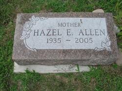 Hazel Elaine Allen