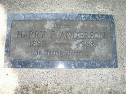 Harry F Anderson