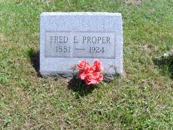 Fred Elemuel Proper