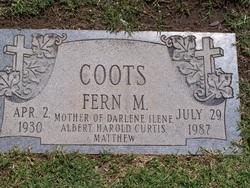 Fern Marie <i>Barnes</i> Coots