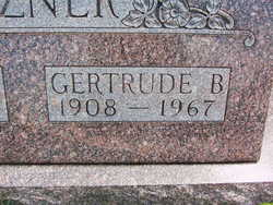 Gertrude <i>Culver</i> Mitzner