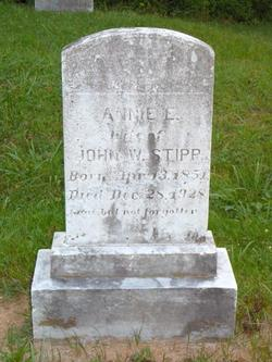 Annie E. <i>Chapline</i> Stipp