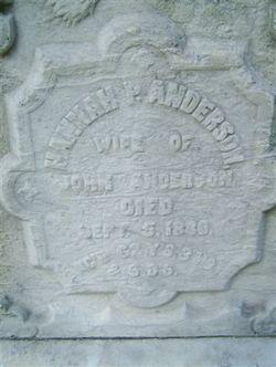 Hannah P. <i>Peterson</i> Anderson