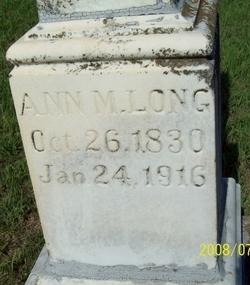 Ann M Long