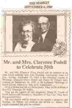 Clarence R Pete Podell
