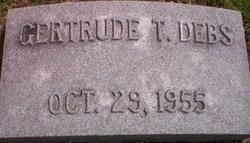 Gertrude T Debs