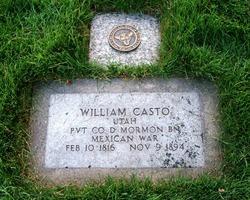 Pvt William Casto