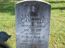 PFC Samuel A. Sammy Campbell