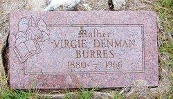Virgie <i>Denman</i> Burres