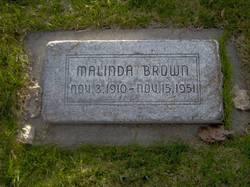 Malinda <i>Leavitt</i> Brown