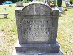 Caroline H <i>Green</i> Green