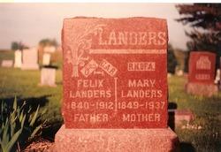 Mary <i>Lyon</i> Landers