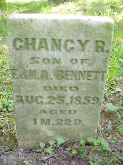 Chancy R Bennett