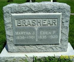 Martha Jane <i>Welden</i> Brashear