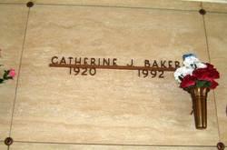 Catherine J <i>Hemler</i> Baker