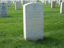 LCpl Randall Kenneth Randy Campbell