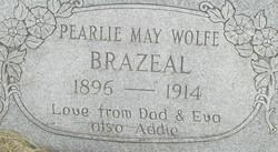 Pearlie May <i>Wolfe</i> Brazeal