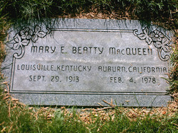 Mary Elizabeth <i>Beatty</i> McQueen