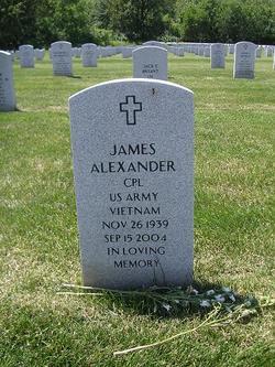 Corp James Michael Alexander