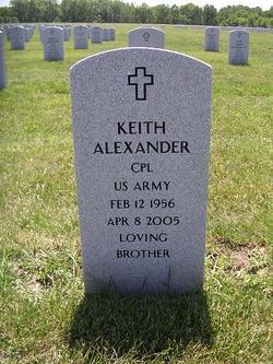 Corp Keith Alexander