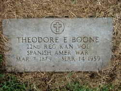 Theodore Edwin Boone