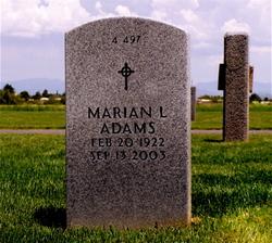 Marian Lea <i>Farmer</i> Adams