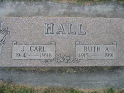 Ruth Alice Ruth <i>Nunn</i> Hall