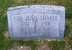 Ann Jean Sharpe